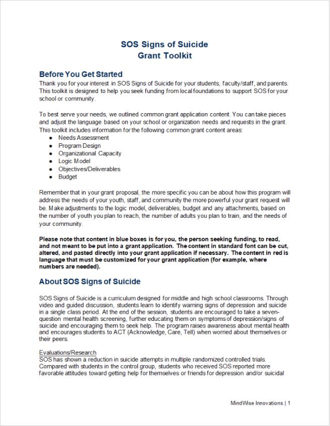 grant toolkit